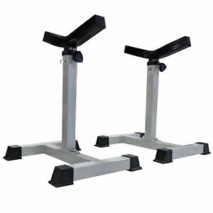 Image Is Loading Titan Bench Press Spotter Stands