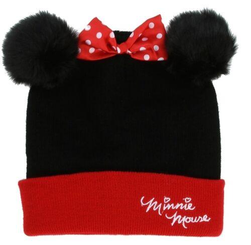 MINNIE MOUSE GIRLS WINTER HAT /& GLOVES SET