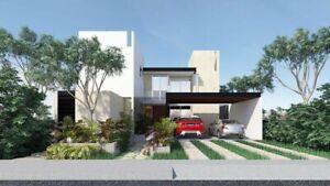 Casa en venta en privada al norte de Mérida, Parque Natura