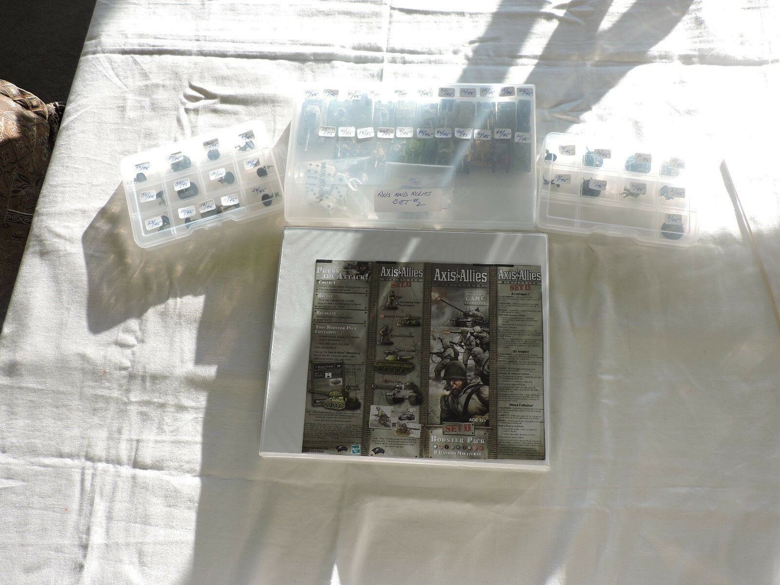 AXIS AND ALLIES MINIATURES   SET II