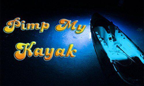 LED Lighting Kit DIY with Red /& Green Navigation lights PIMP MY KAYAK BLUE