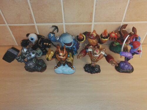 Skylanders spyro Giants série complète de 8 tous les éléments Inc Ninjini