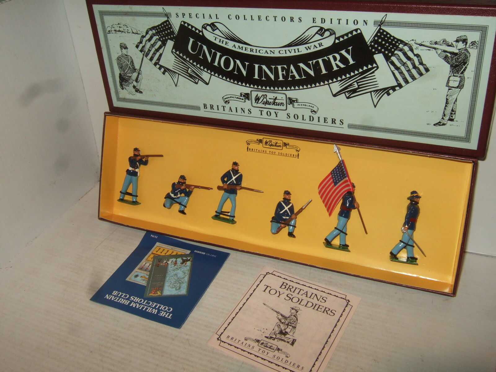Rare Britains Special Collector Box Set 8852 American Civil War Union Infantry