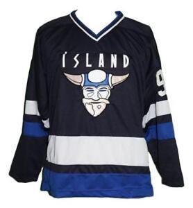 Custom-Name-Island-Iceland-Retro-Hockey-Jersey-New-Navy-Blue-Stahl-Any-Size