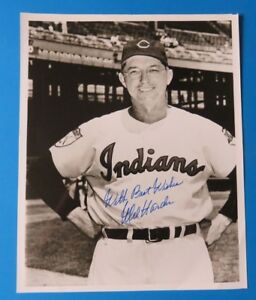 MEL-HARDER-SIGNED-8x10-PHOTO-BASEBALL-AUTOGRAPH-100-GUARANTEE