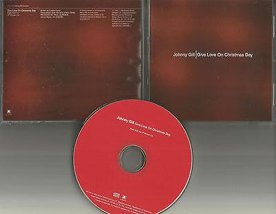 New Edition JOHNNY GILL Give Love on Christmas day RADIO EDIT PROMO CD Single   eBay