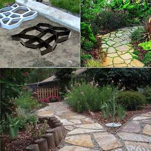 Image Is Loading Solid Garden Walk Maker Mould Paving Brick Pathmate