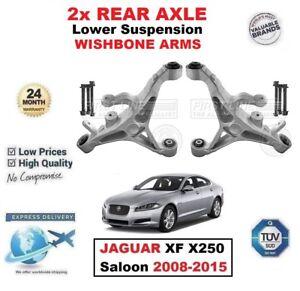 2x-REAR-AXLE-Lower-SUSPENSION-Wishbone-ARMS-for-JAGUAR-XF-X250-Berlina-2008-2015