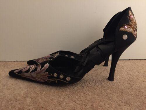 Millen 38 5 uk Belle ricamate scarpe Karen taglia dx7Bq1dw