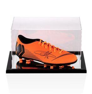 5e57becfd Caricamento dell immagine in corso EDEN-HAZARD-FIRMATO-FOOTBALL-BOOT -Arancione-Nike-Mercurial-