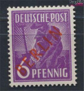 Berlin-West-22-geprueft-postfrisch-1949-Rotaufdruck-9223651