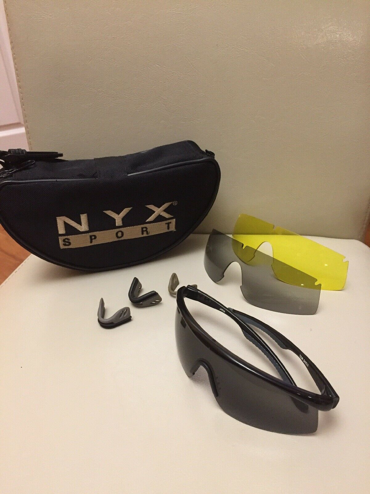 NYX MULTIPLE LENS SPORT GLASSES TOUR SHELD JAPAN