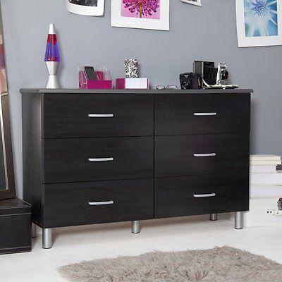 Cosmo Double Dresser, Black