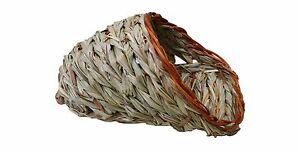 Wooden Rabbit Woven Grass Crave Grass Small Pet Hut Nature's Hideaway Grass Couc