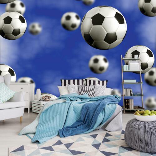 Photo Wallpaper Mural 0039759D13 Football Ball Sport Goal Field Pitch Sky Abstra