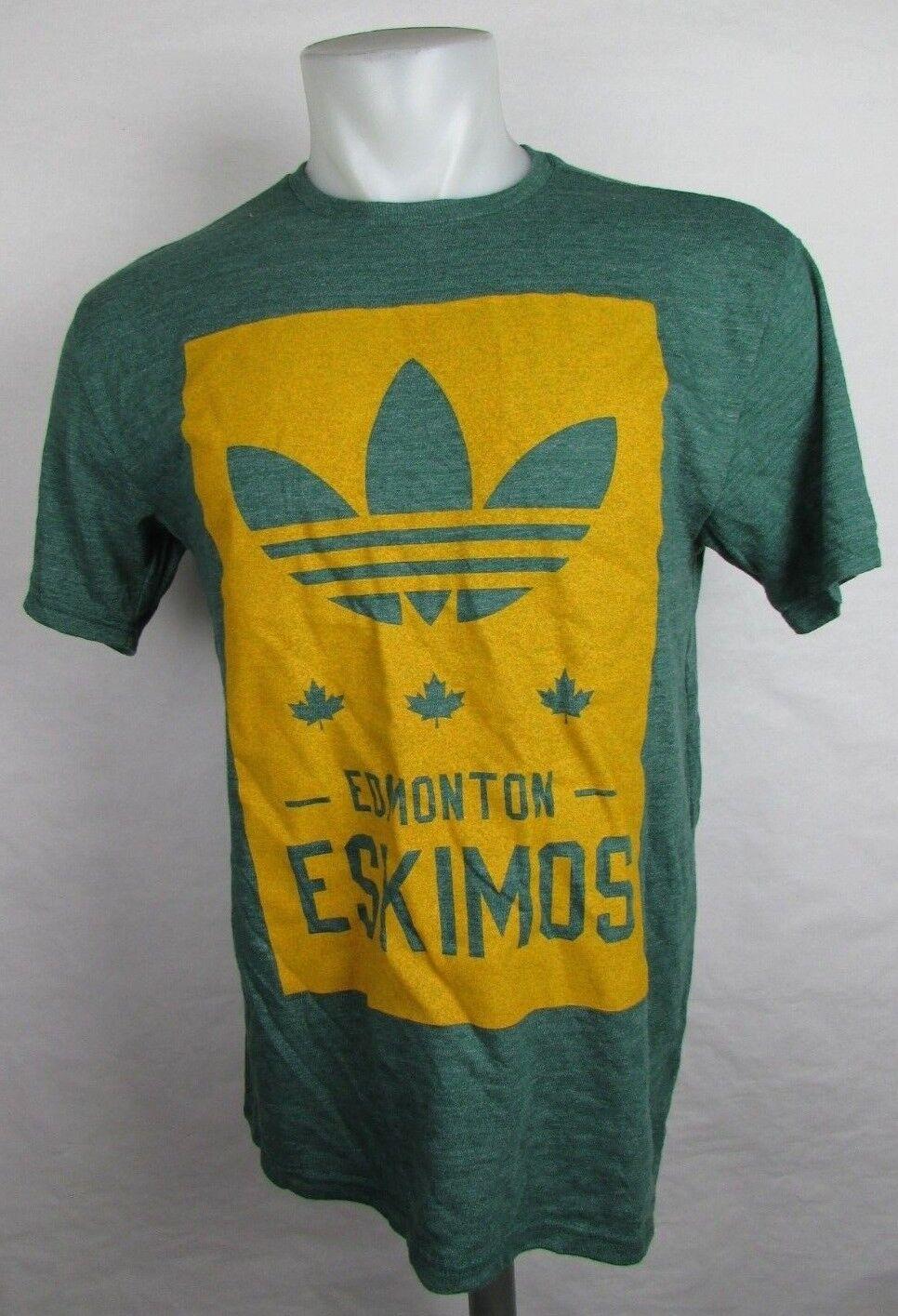 Ligue canadienne de football CFL Adidas Hommes Eskimos d Edmonton S M L XL XXL