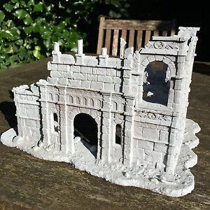 Ruined Building Of Osgiliath Gondor High Quality Lotr Resin