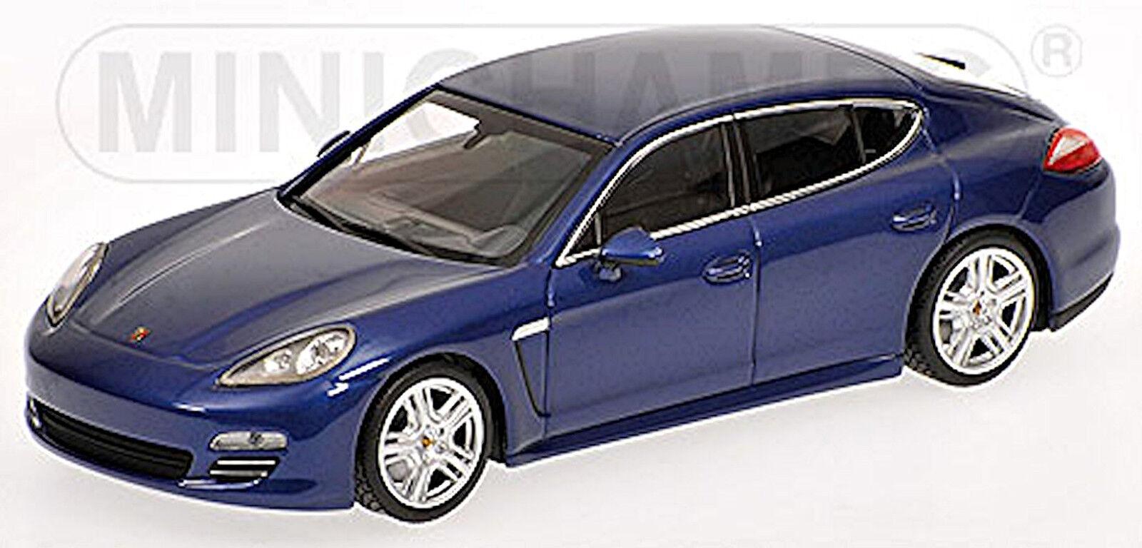 Porsche Panamera 4 Limousine 2009-13 Typ 970 bluee Aquablue metallic 1 43