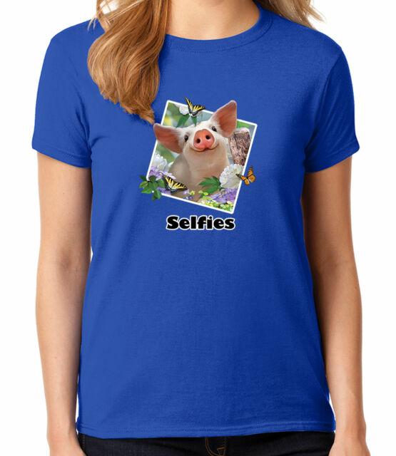 Aquapark Pool Party JUNIOR/'S T-shirt Cute Sharks Selfie GIRL/'S Tee 1776C