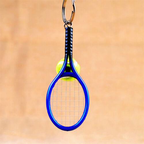 Creative Tennis Racket Design keyring Key Chain Creative Keychain Gift Present