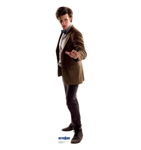 11TH DOCTOR Doctor Who Dr Who Side Matt Smith CARDBOARD CUTOUT Standup Standee
