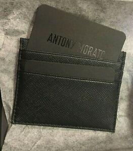 Kartenmaeppchen-Kartenetui-von-Antony-MORATO-in-schwarz-neu