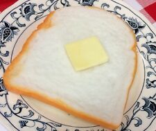 Realistic Artificial Imitation Faux Fake Food Replica BREAD & BUTTER