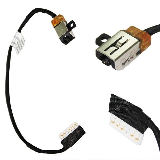DC POWER JACK CABLE Dell Inspiron P66F P66F001 P66F002