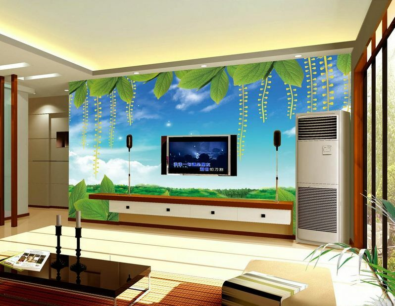 3D Vine leaves 5 Wall Paper Murals Wall Print Decal Wall Deco AJ WALLPAPER