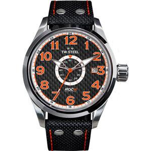 Armband- & Taschenuhren Tw-steel Vs37 Volante Herren 45mm 10atm