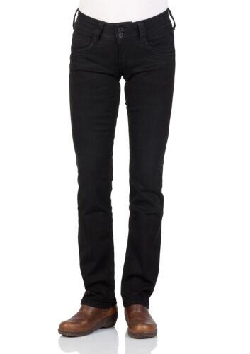 Schwarz Regular Fit Black Denim Pepe Jeans Damen Jeans Gen