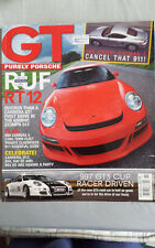 GT Porsche Nov 2005 Ruf RT12, 997 GT3 Cup racer, Cayman S