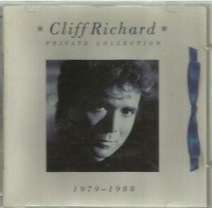 二手 西德版 CD冇花 CLIFF RICHARD PRIVATE COLLECTION 1979 - 1988