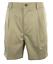 Roundtree /& Yorke Size 50 Big ELASTIC WAIST Khaki Cotton Pleated New Mens Shorts