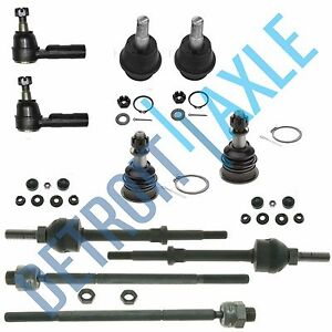 10pc-Front-Tie-Rod-Ball-Joint-Sway-Bar-Link-2006-2008-Dodge-Ram-1500-5-Lug-4x4