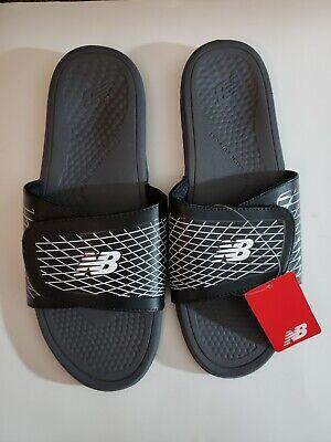 Balance Men's Cush+ Slide Sandal Black