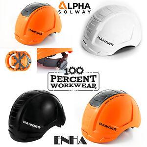 Alpha-Solway-ENHA-Ranger-Work-Safety-Helmet-Hard-Hat-Vented-Industrial-EN397-New