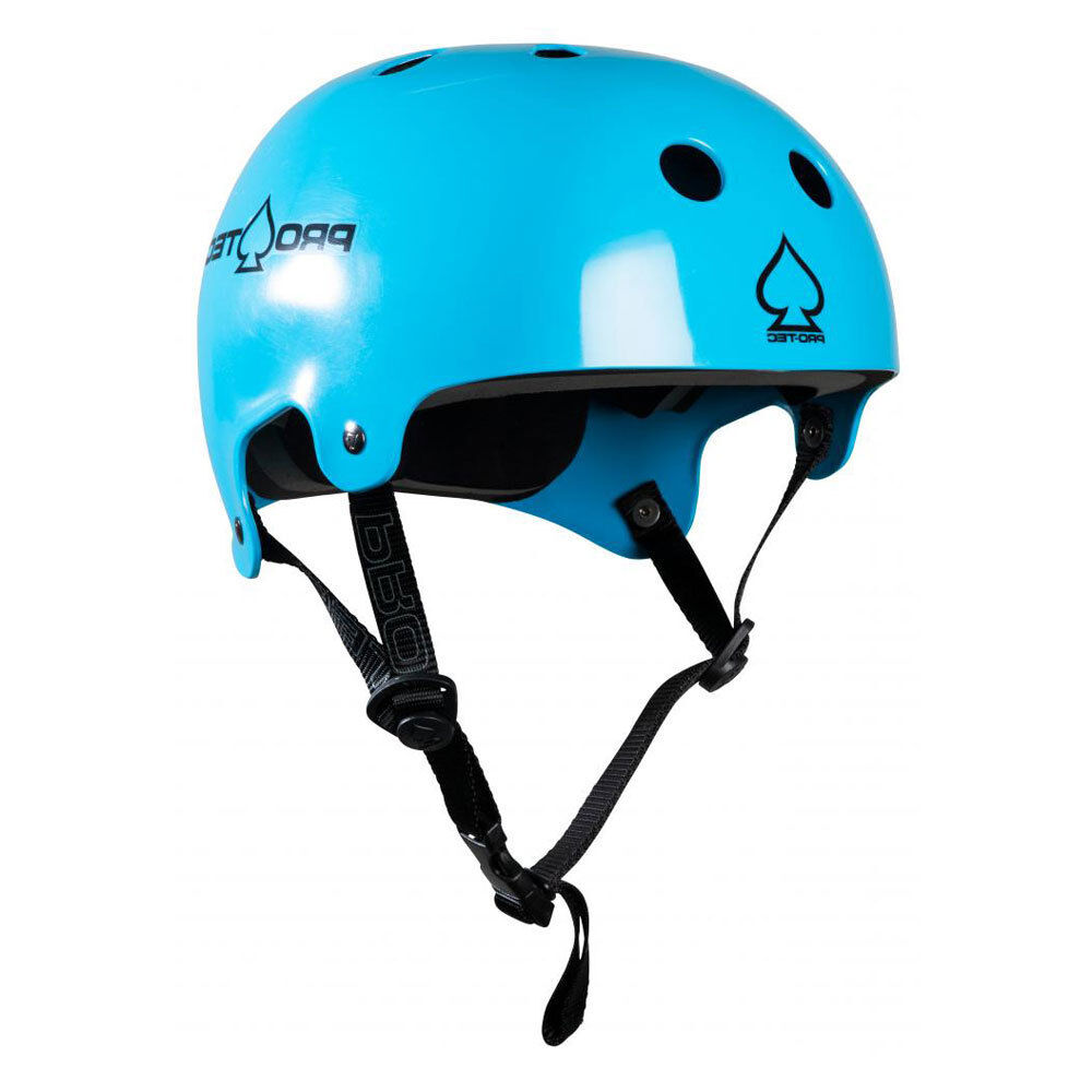 Casco Pro-Tec Helmet Old School Wake Gloss bluee