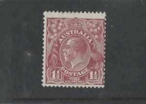 1930-Australia-1-1-2d-red-brown-SG-97-sm-multi-wmk-P-13-mlh