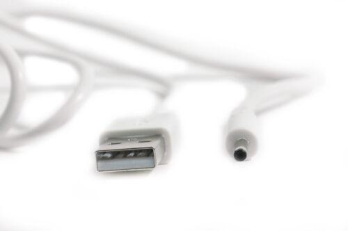 USB 90 cm Blanc Câble De Chargeur Pour Motorola MBP18 MBP-18 bébé Unité Moniteur Bébé