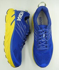 NEW-Mens-HOKA-ONE-ONE-Clifton-6-Nebulas-Blue-Lemon-Running-Shoes-2872NBLM-c1