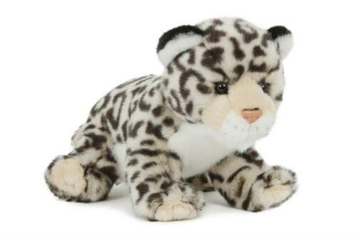 Schnee-Leopard Plüschtier Schneeleopard Stofftier Plüsch-Kuscheltier NEU 23cm