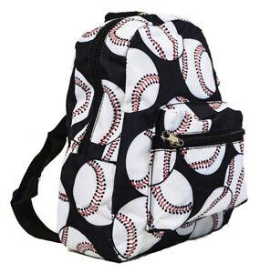 Kids-Toddler-Baseball-Backpack-Mini-Small-Preschool-Bag-Purse-Sports
