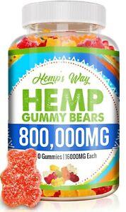 Natural Gummies Gluten Free Vegan Gummy Vitamin Sleep Calm Health Premium