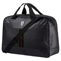 Puma Men's Premium Ferrari Ls Weekender Tote Travel Gym Bag Black 07452201