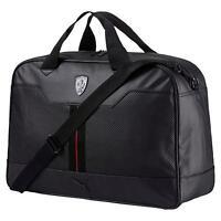 Puma Men's Premium Ferrari Ls Weekender Tote Travel Gym Bag Black 07452201