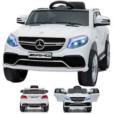 Mercedes-Benz GLE 63S AMG Kinderauto Kinderfahrzeug Kinder Elektroauto WEISS