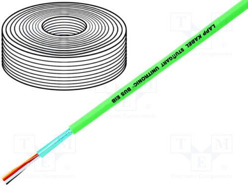 Leitungen; EiB//KNX PROFIBUS 5 m Klimasysteme; 2x2x0,8mm; Draht; Cu
