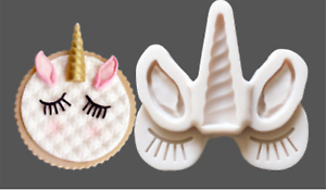 Pony-Horn-Chocolate-Cake-ice-Cube-Candy-Cookie-Silicone-Mold-Mould-Decorating