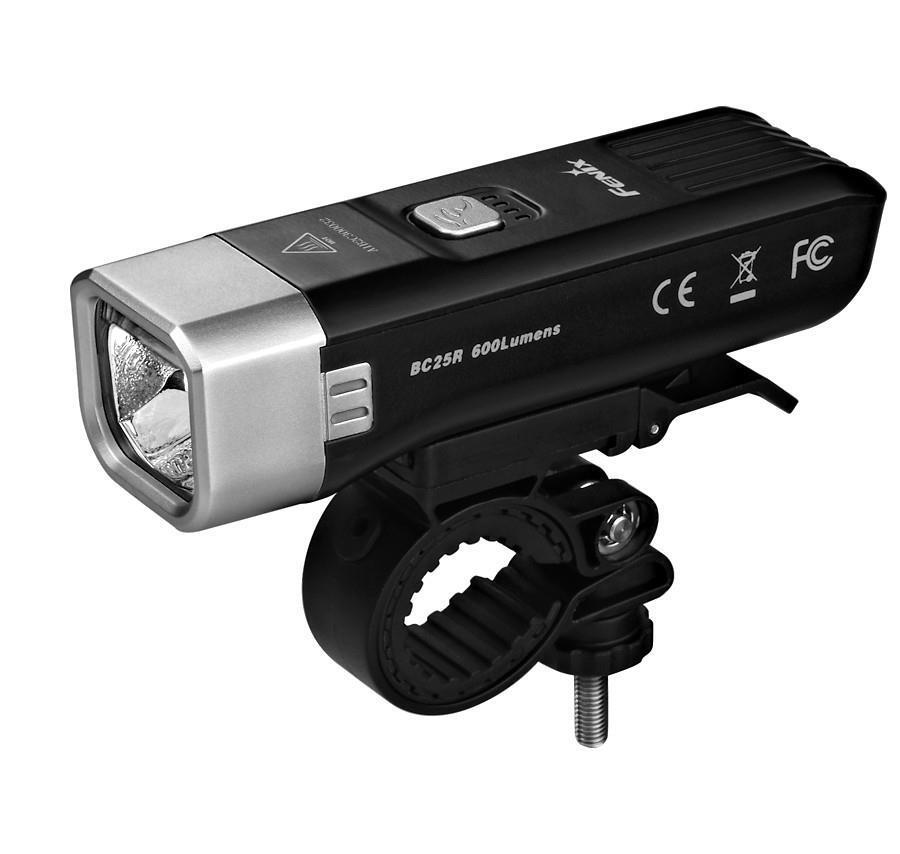 Fenix BC25R Bike Cycling Light - USB Rechargeable, Town City Cycle Light, 600L